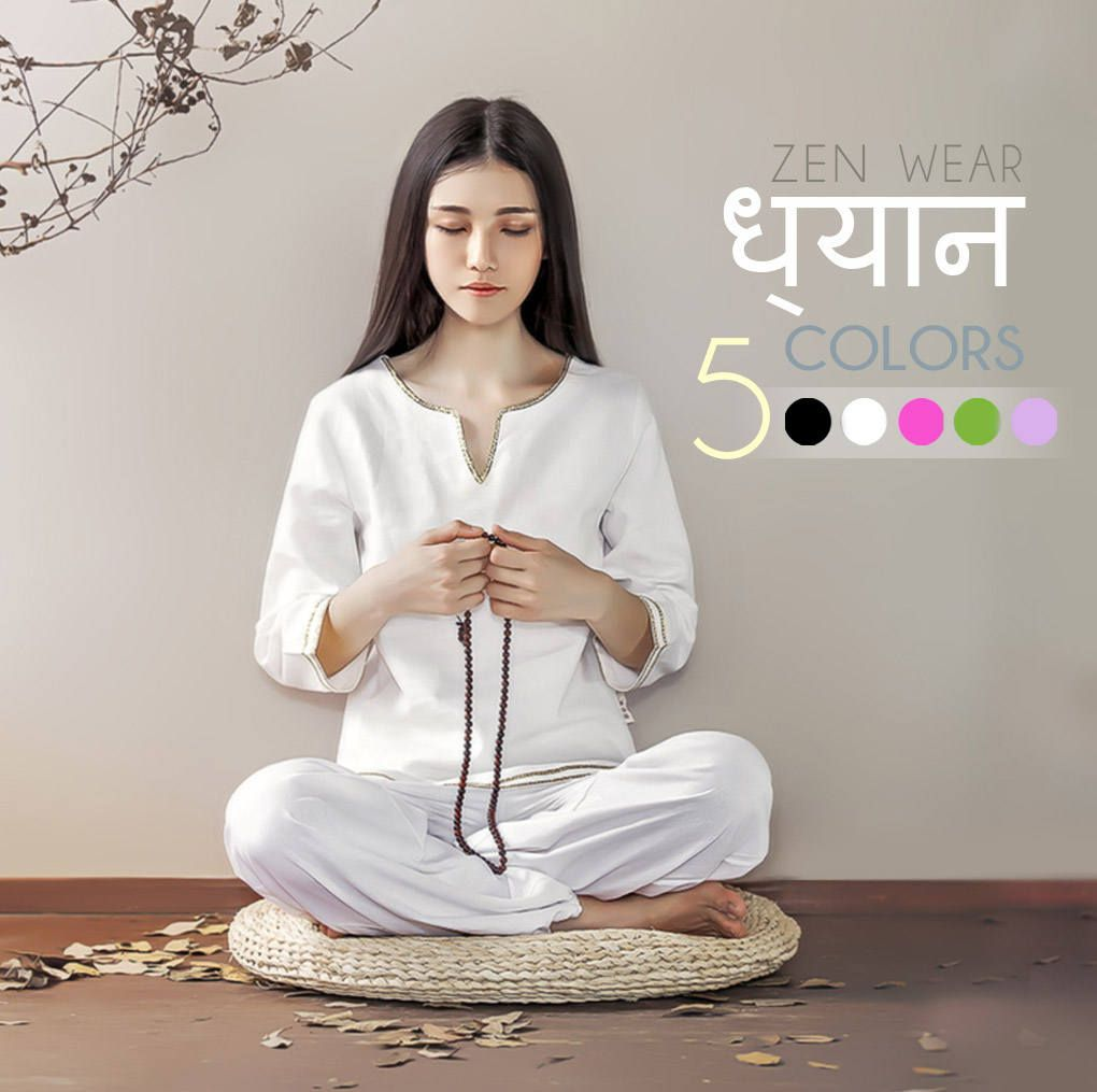 Free Shipping - Women Indian Zen Clothes for Yoga, Tai Chi