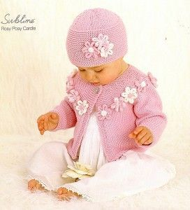 Age: 2-3 years; You will need: 50 g fir k001 Sublime baby cashmere merino silk dk shade 121 mousse – pentru caciula; 200 g fir k001 Sublime baby cashmere merino silk dk shade 121 mousse – pentru caciula; circular knitting needles No. 4 and nr.3.25; Work density: 22 x 28 ochiuri randuri = 10 X10 cm; Work description: Cap: Mount on needle no. 3.25 - 101 mesh knits and lazy point 11 cm, last row being back row. Among the following will knit: 9 knit stitch, 2 knit stitches together, (7 knit ...