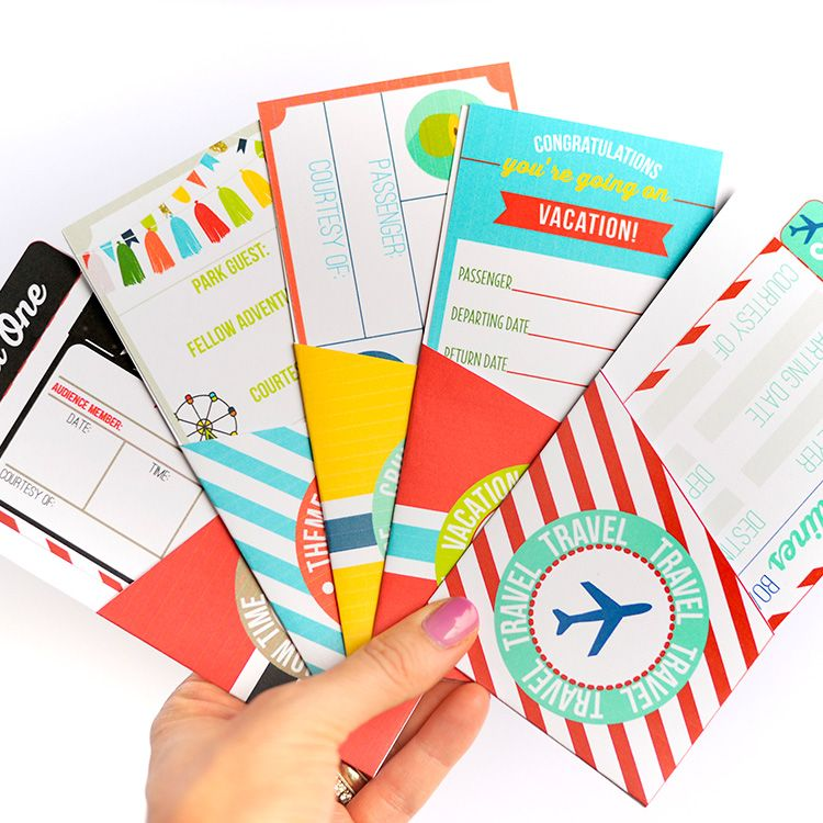 Gifts of Time and Travel Meaningful christmas gifts, Printable - fake plane ticket template