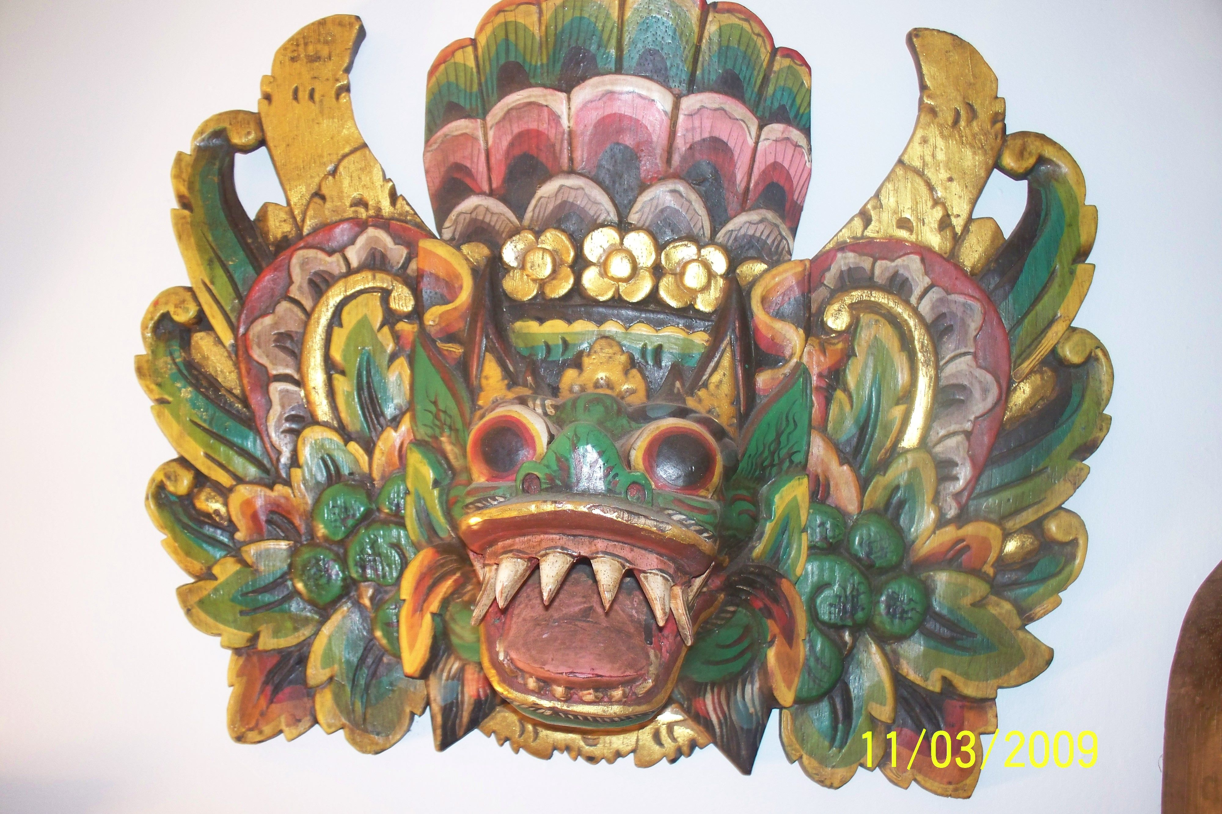 indonesian dragon masks Dragon mask, Dragon, Mask