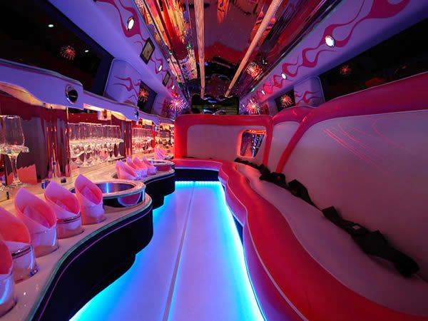 Pink Hummer Party Bus Party Bus Hummer Limo Party Bus