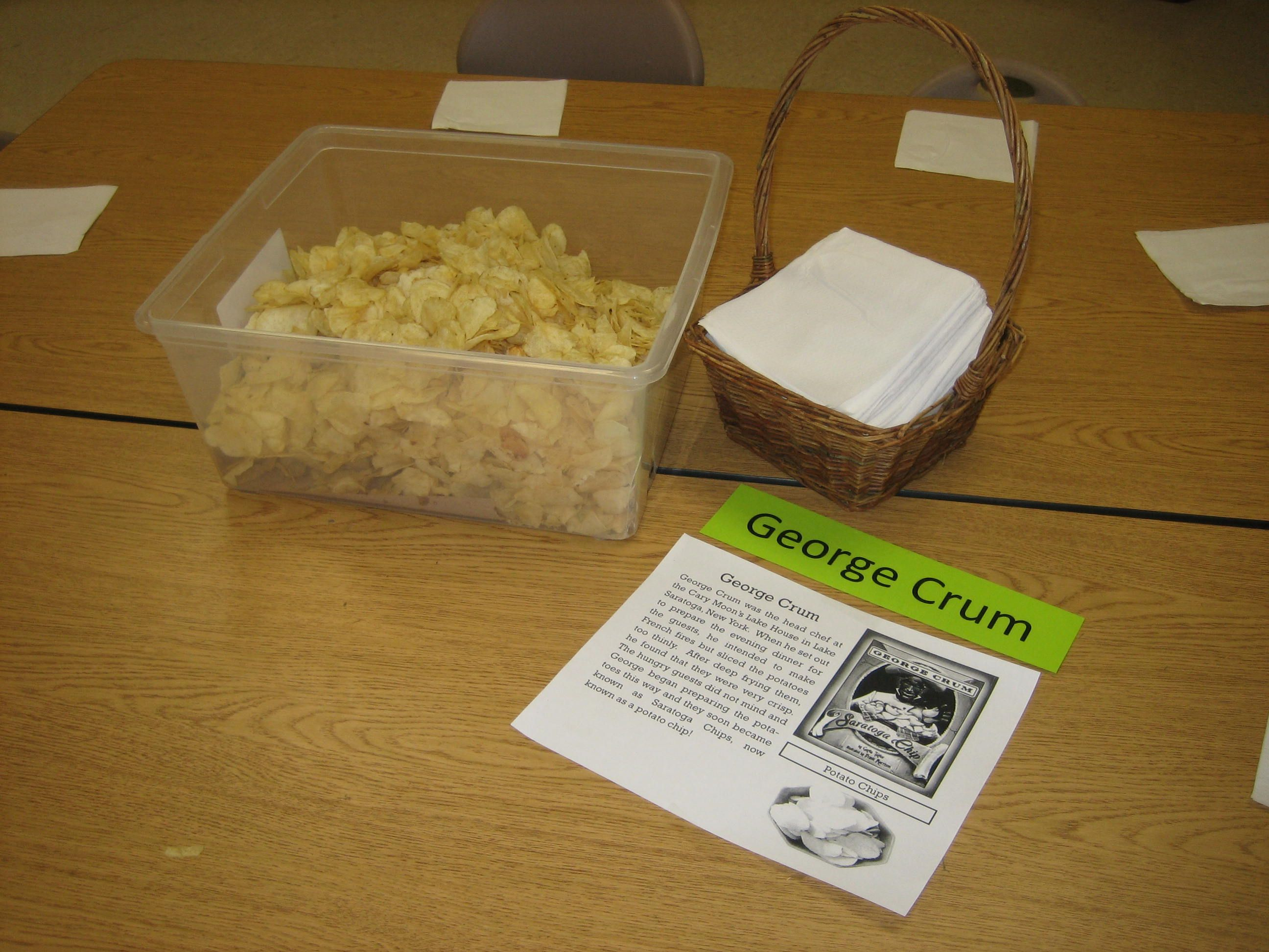 George Crum Was The Early Inventor Of Today S Potato Chip Have A Taste