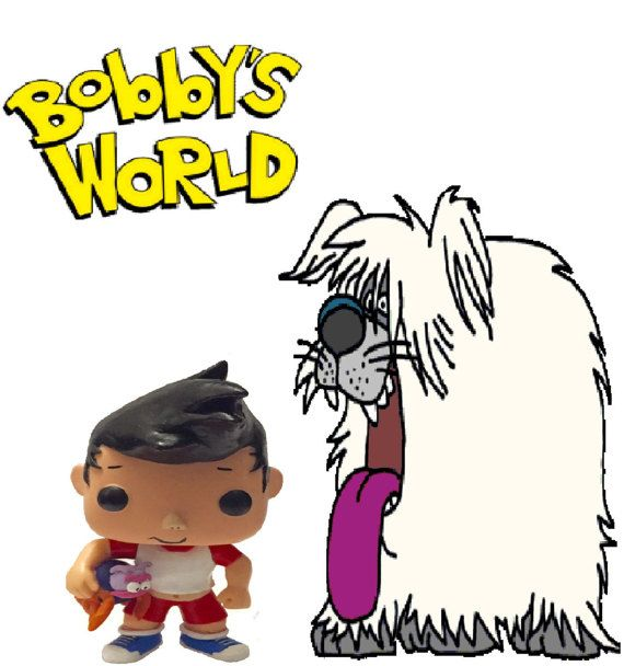 custom bobby from bobbys world pop vinyl now with by angiescustoms