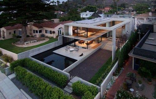Incroyable maison contemporaine en béton The Cresta par Jonathan ...