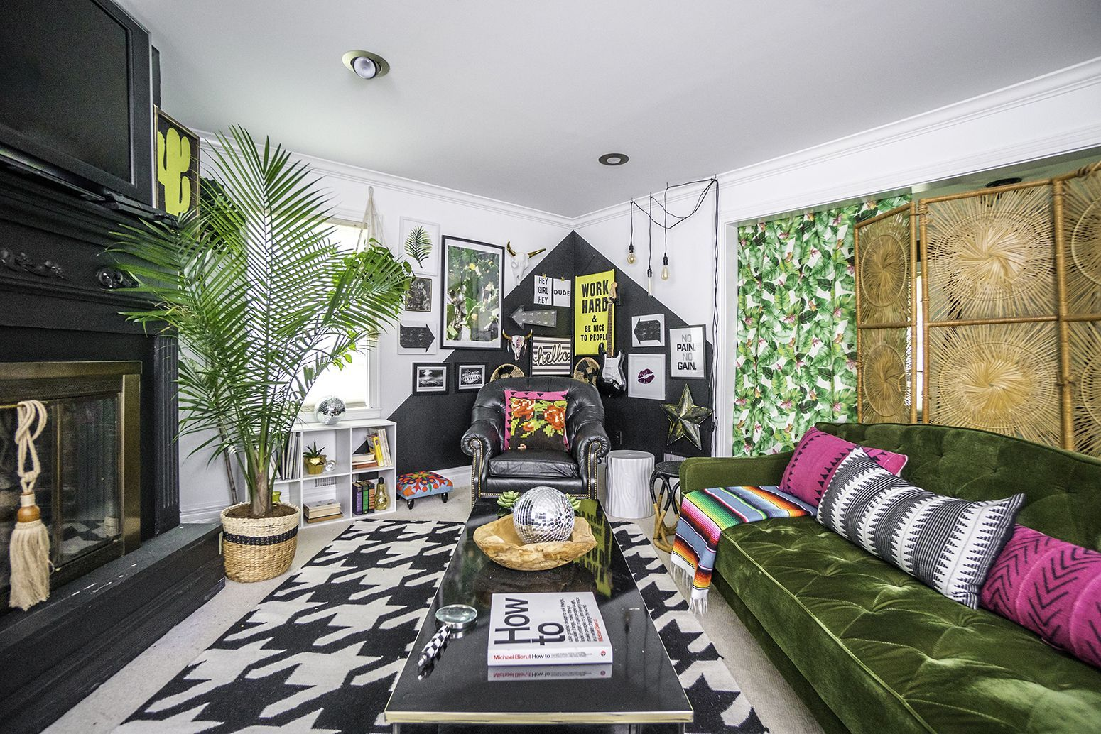 An eclectic home for an energetic family in indiana designsponge