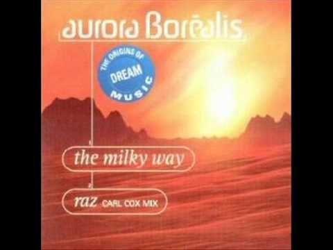 Aurora Borealis The Milky Way Techno Music Electronic Dance Music Milky Way