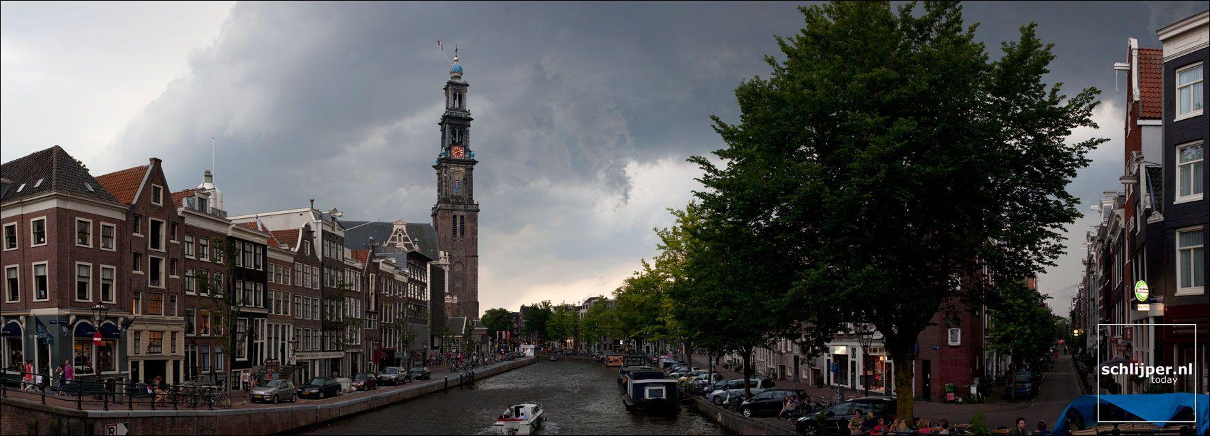 Amsterdam Prinsengracht panorama Amsterdam Prinsengracht panorama