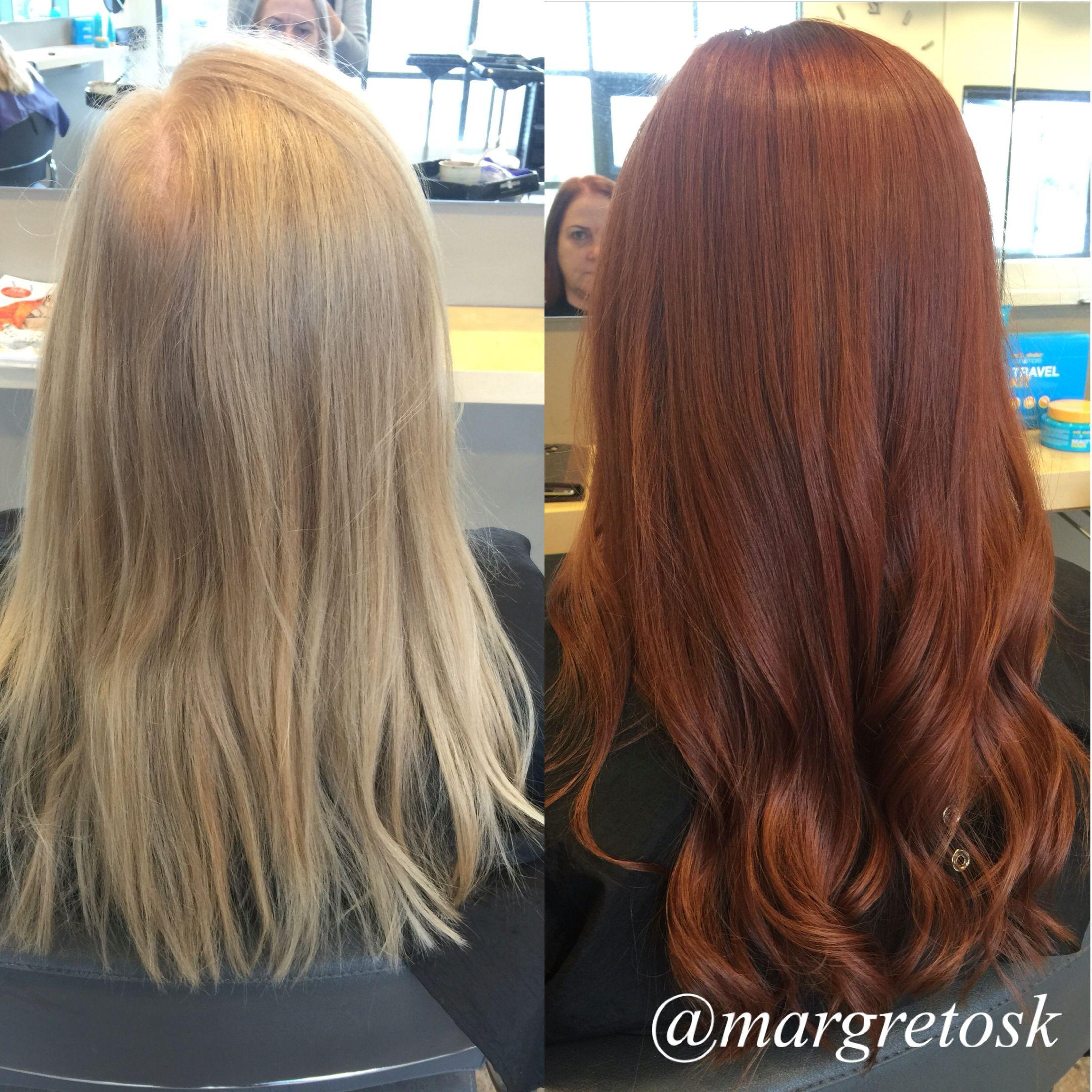 dramatic transformation blonde