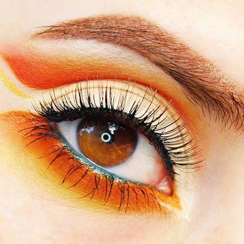 Pokemon Eye Makeup - Charmander!