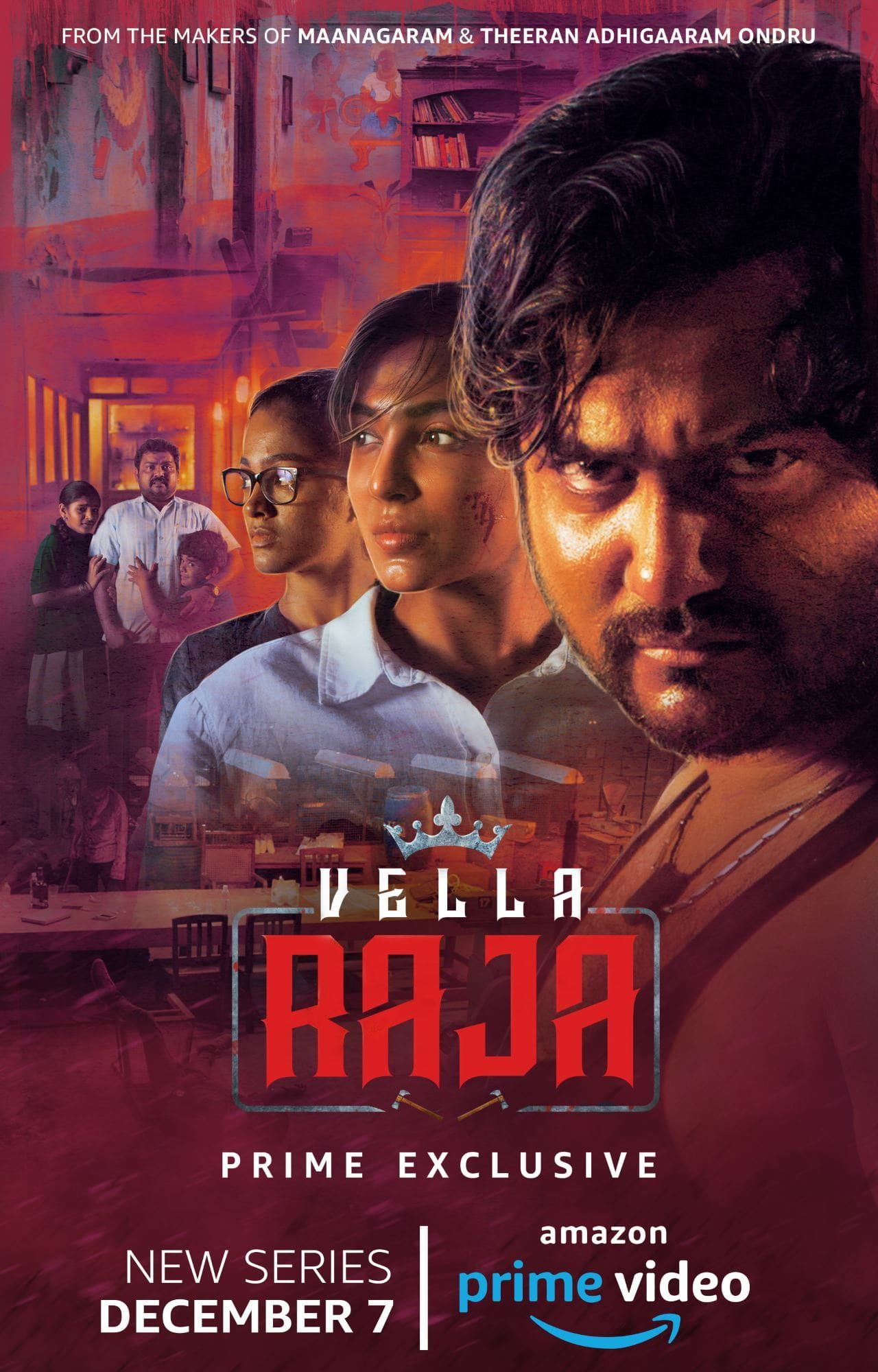 Amazon Prime Video Announces First Tamil Series Vella Raja
