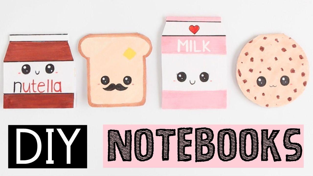 Diy notebooks four easy cute ideas diy pinterest for Room decor nim c