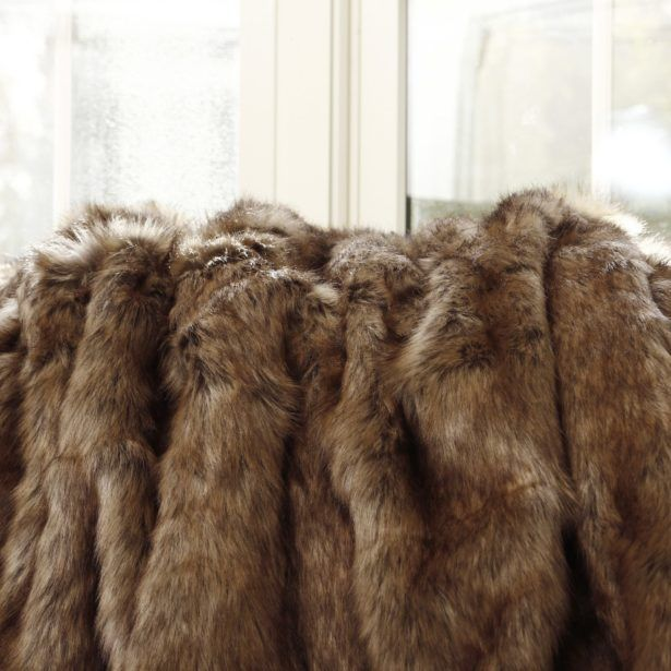 Interior Diy Faux Fur Blanket How To Make A Faux Fur Blanket Fascinating Faux Fur Throw Blanket Gray Wolf Frontgate