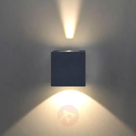Lampa Scienna Zewnetrzna Led Jarno Grafitowa Wall Lights Led Wall