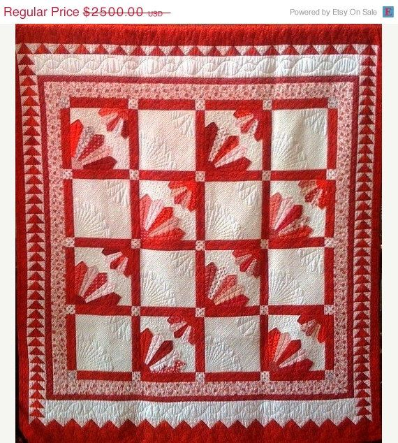ON SALE NOW Delta Menopause 84 x 84 inch quilt by OVBrantleyQuilts, $1500.00