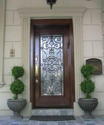 Grand Doors Wood Doors Entry Doors Custom Wood Doors Wrought Iron Doors Brooklyn New York City New Jersey Nj Puertas Cordero