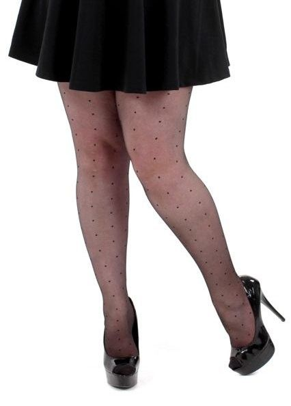 d4dacc1beed plus size dot pattern tights in size 4xl