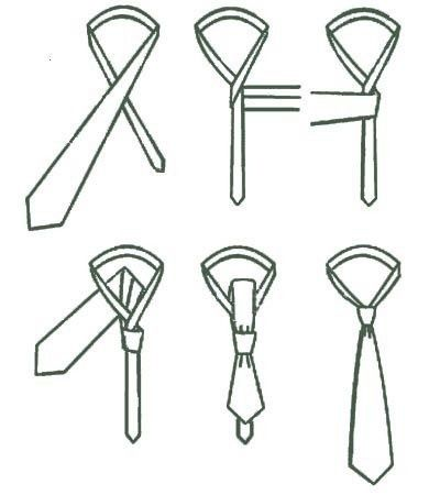 Every girl should know how to tie a tie
