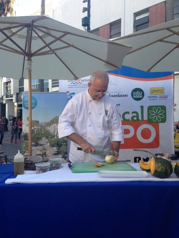 Chef Gianfranco from Locando Del Lago - Buy Local Expo Santa Monica 2013