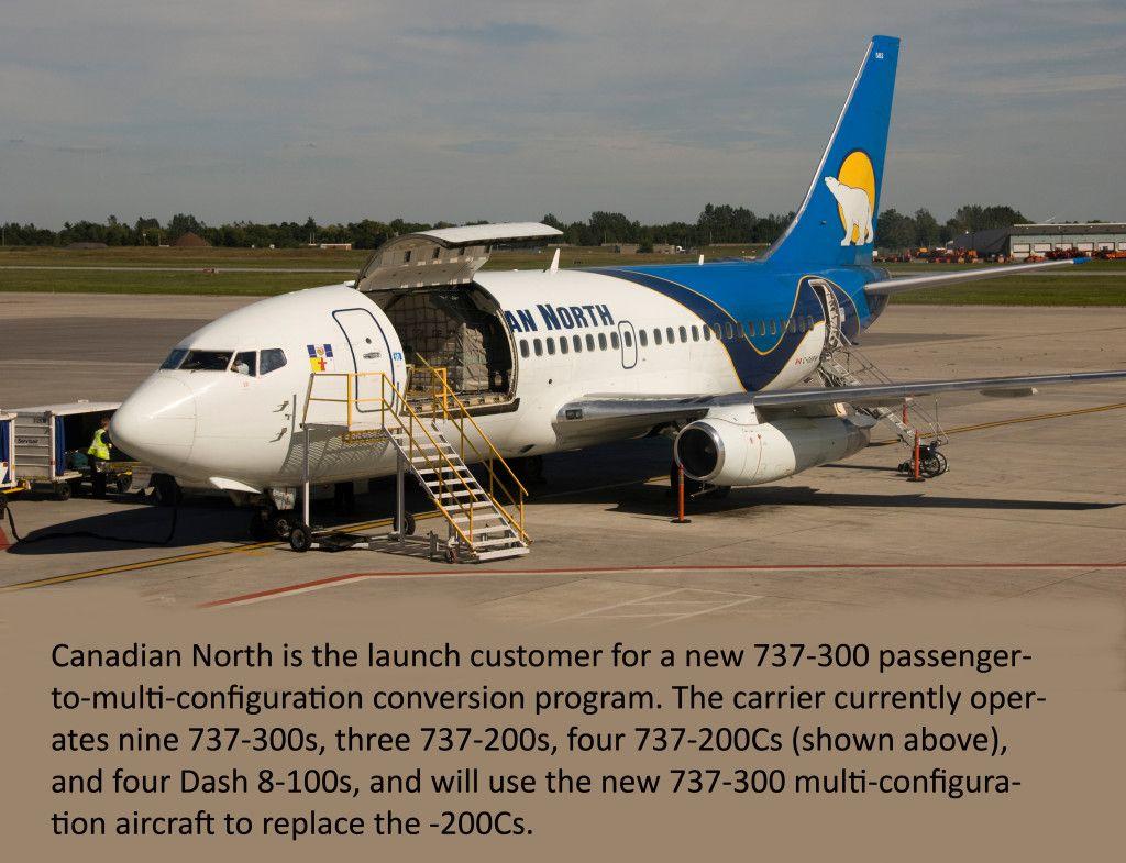A new 737300 conversion program Aircraft, Conversation