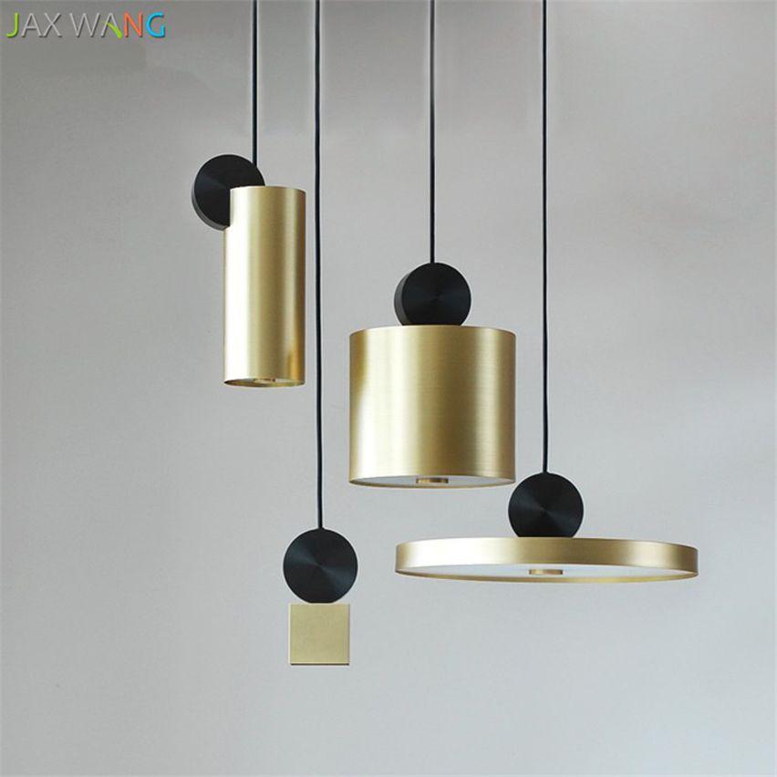 Goedkope Moderne Ronde Rvs Led Hanglampen Combinatie Metalen ...