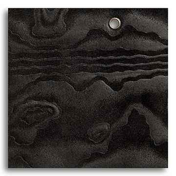Woodland Collection - Moire Black