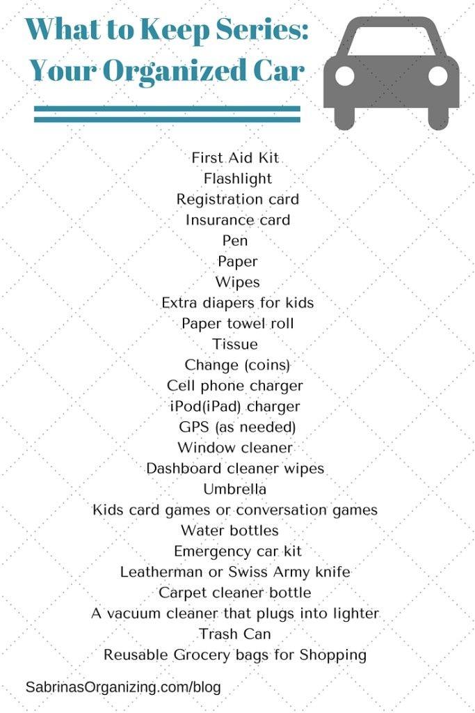 24 Useful Items For Your Family S Organized Car Car Car Cars Organization Car Hacks