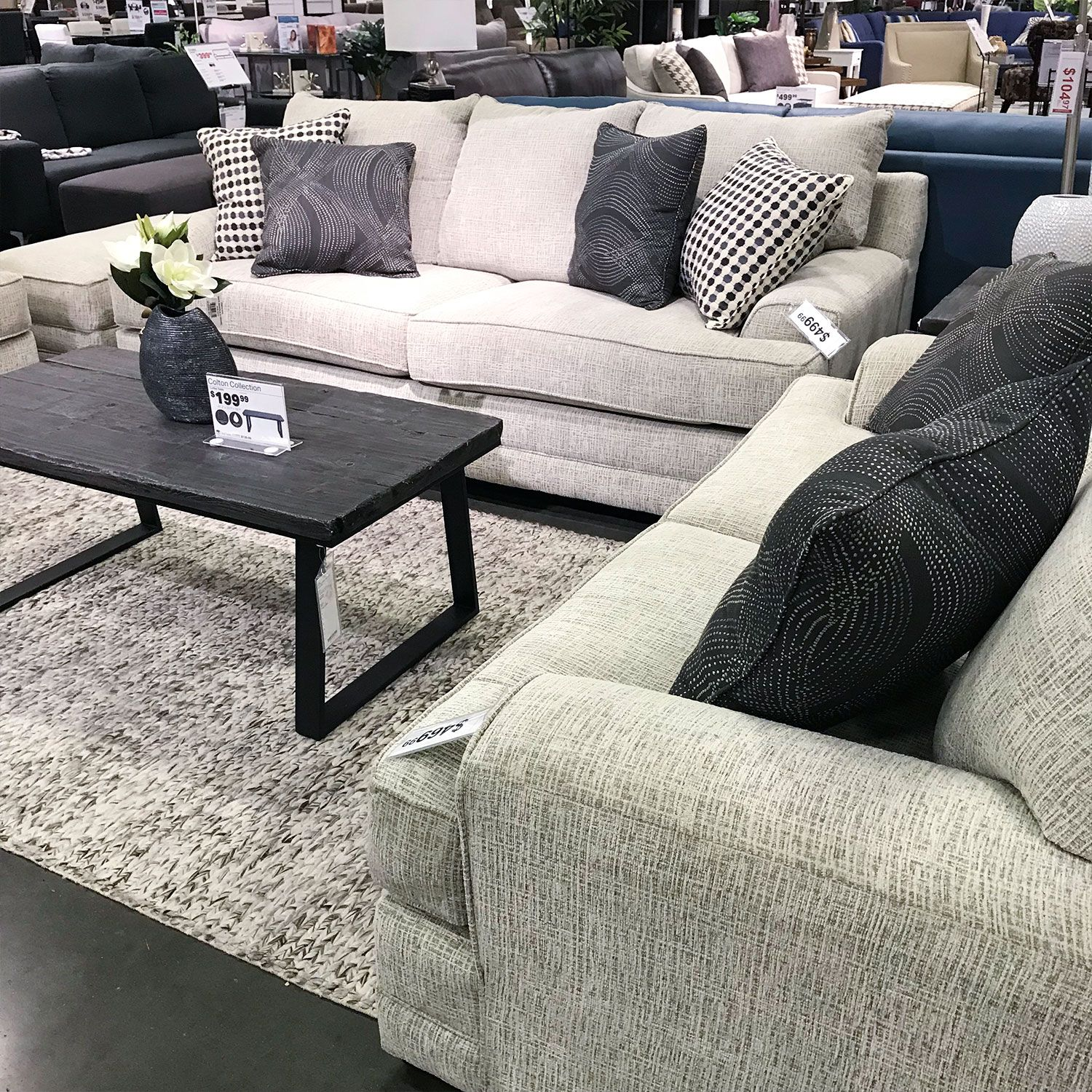 Isabella Sofa With Colton Coffee Table In Store Only