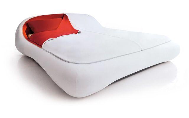 1 Letto Zip Bed Smart Italian Design Florida White1 Letto Zip Bed