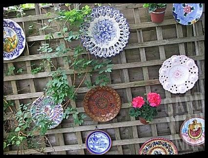 PLATES_USED_TO_DECORATE_GARDEN_FENCE______#RSA2558- #DECORATE #Details #PLATES #GARDEN how to decorate your yard garden ideas RSA2558- PLATES USED TO DECORATE GARDEN FENCE : Asset Details 25+ | how to decorate your