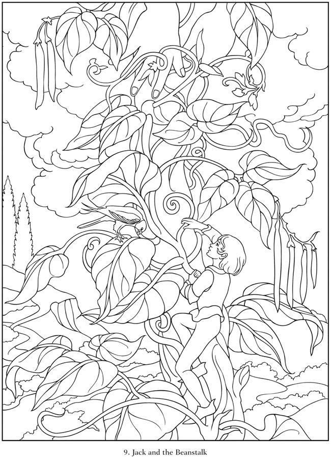 Berühmte Fairy Tales-Malbuch 3713 | Imágenes para colorear ...