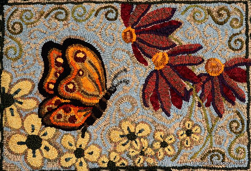 Erfly Bliss Rug Pattern Gentle Spirit Creations