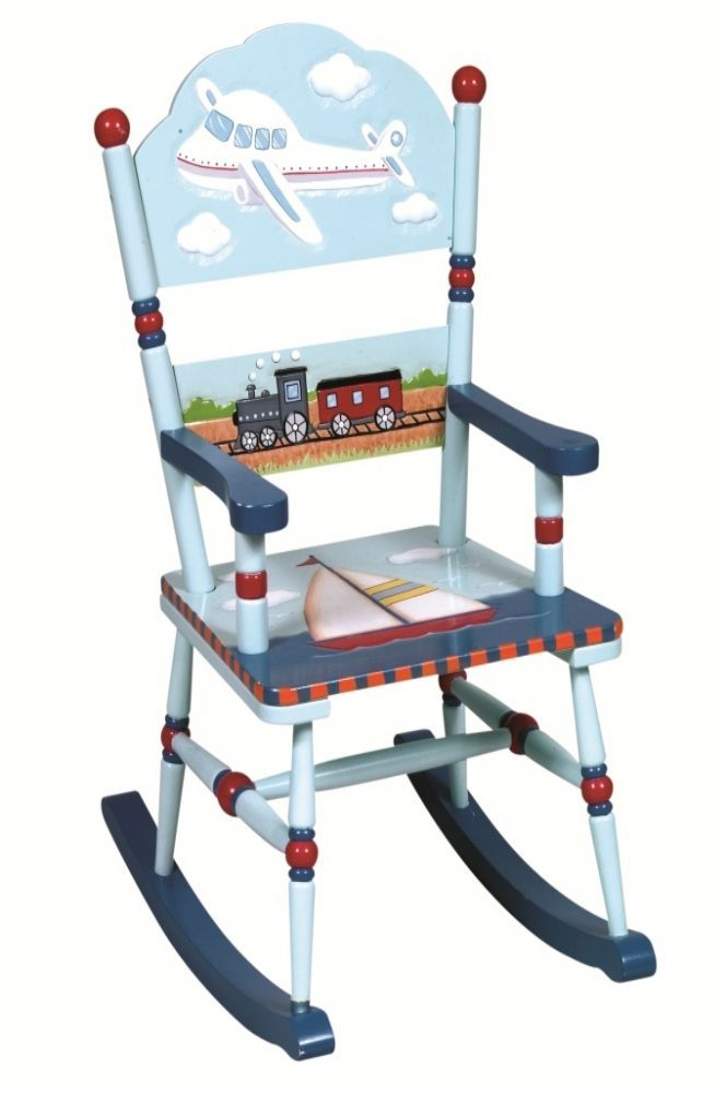 Beautiful Hand Carved And Hand Painted Wooden Furniture From Guidecraft  With Transportation Decoration. Any Little