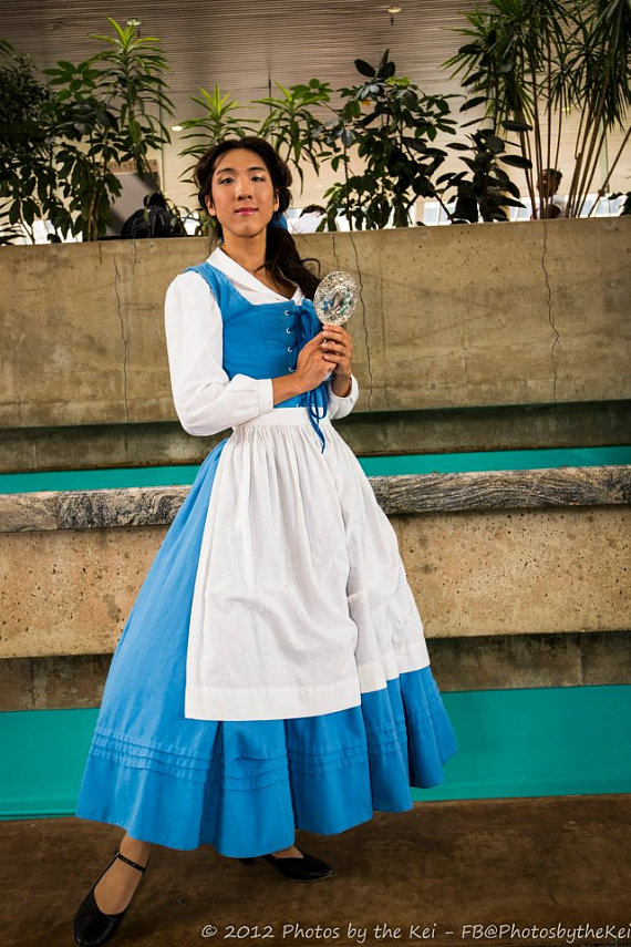 Belle Village Dress/Peasant Dress by AllenGale on Etsy ...