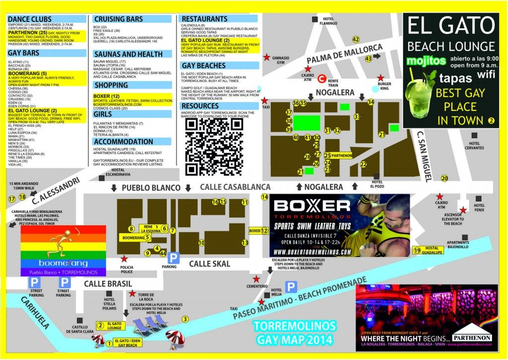 gay map torremolinos gay torremolinos Pinterest Gay