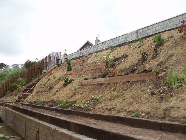 Pictures Of Landscaping On Steep Slopes Pdf Hillside Landscaping Steep Hill Landscaping Backyard Landscaping Designs