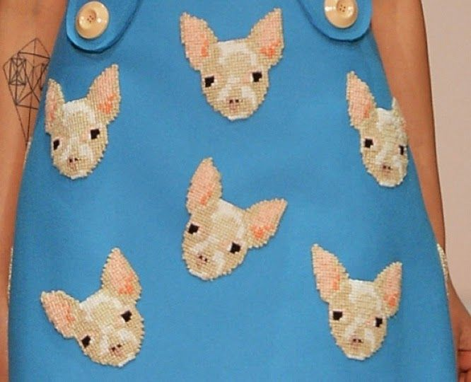 Au Jour Le Jour Fall 2014: Chihuahuas and Kitties   The Terrier and Lobster