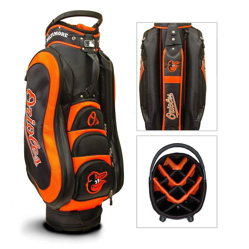 Baltimore Orioles MLB Cart Bag 14 way Medalist