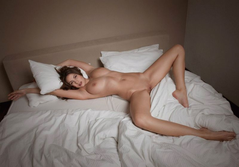 Women touching other women in bed nude, nudist sleeps