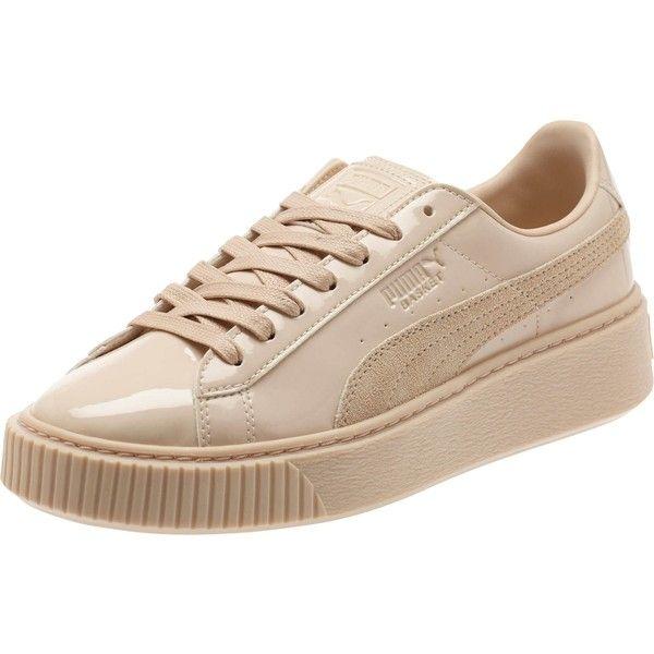 puma online shoe stores, Puma Leather Basket Platform