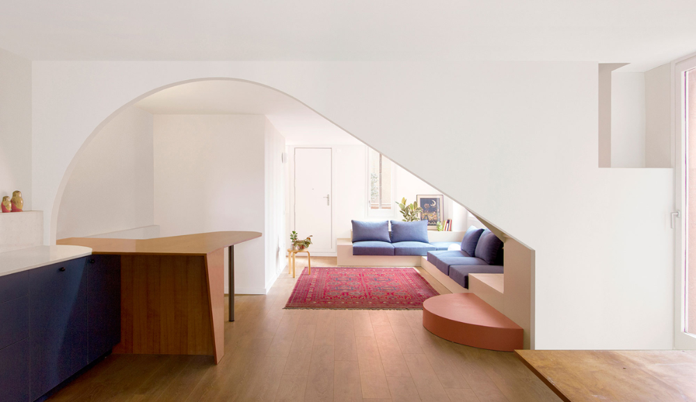 Bonell Doriga Renovation Of An Apartment In Walden 7 Hic Arquitectura Em 2020
