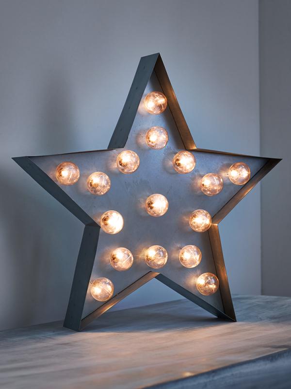Zinc Star Carnival Light Home Decor In 2019