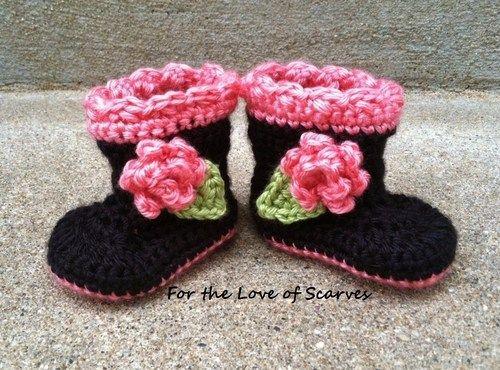 Darling Crochet Baby BOOTies