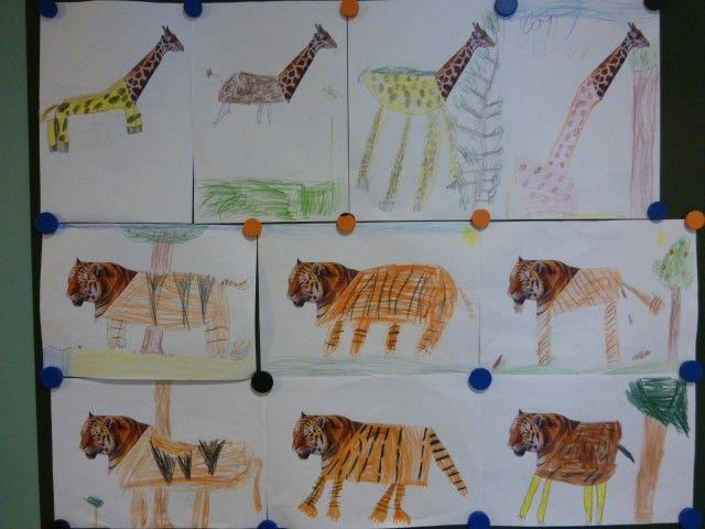 Beroemd thema wilde dieren groep 1/2 - Google zoeken | th jungle &PN52