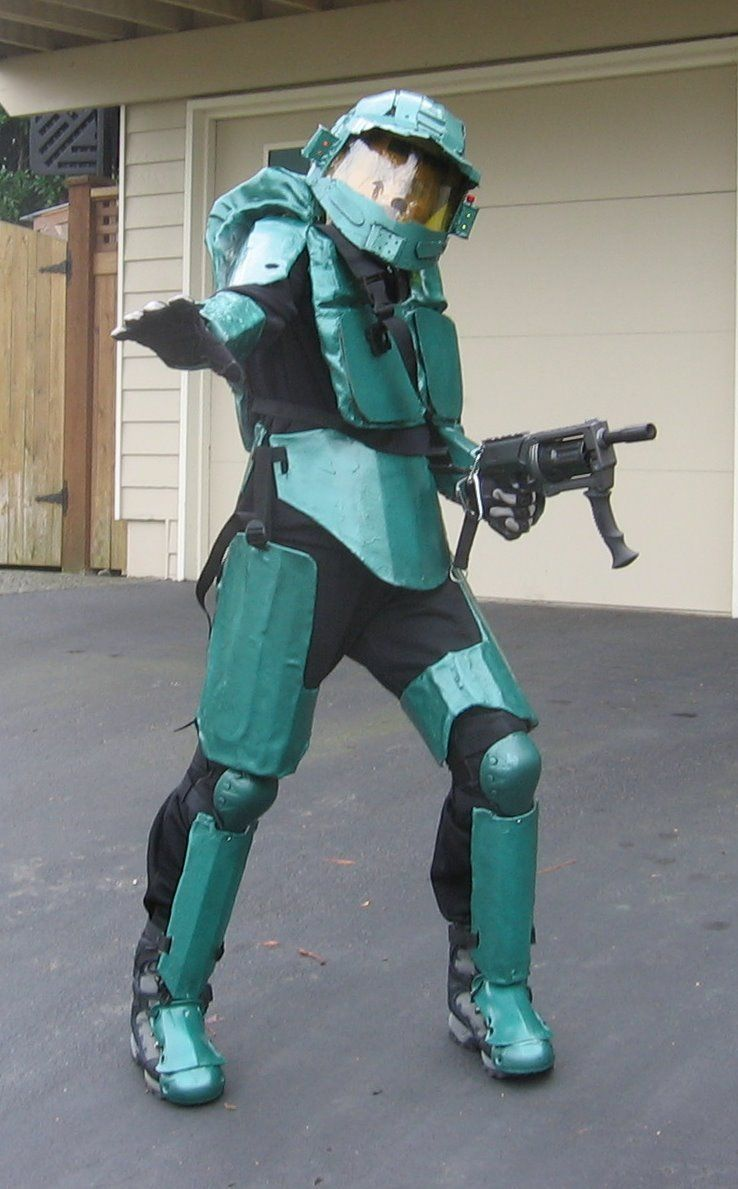Halo 3 Master Chief Halloween Costume | The Kids Halloween ...