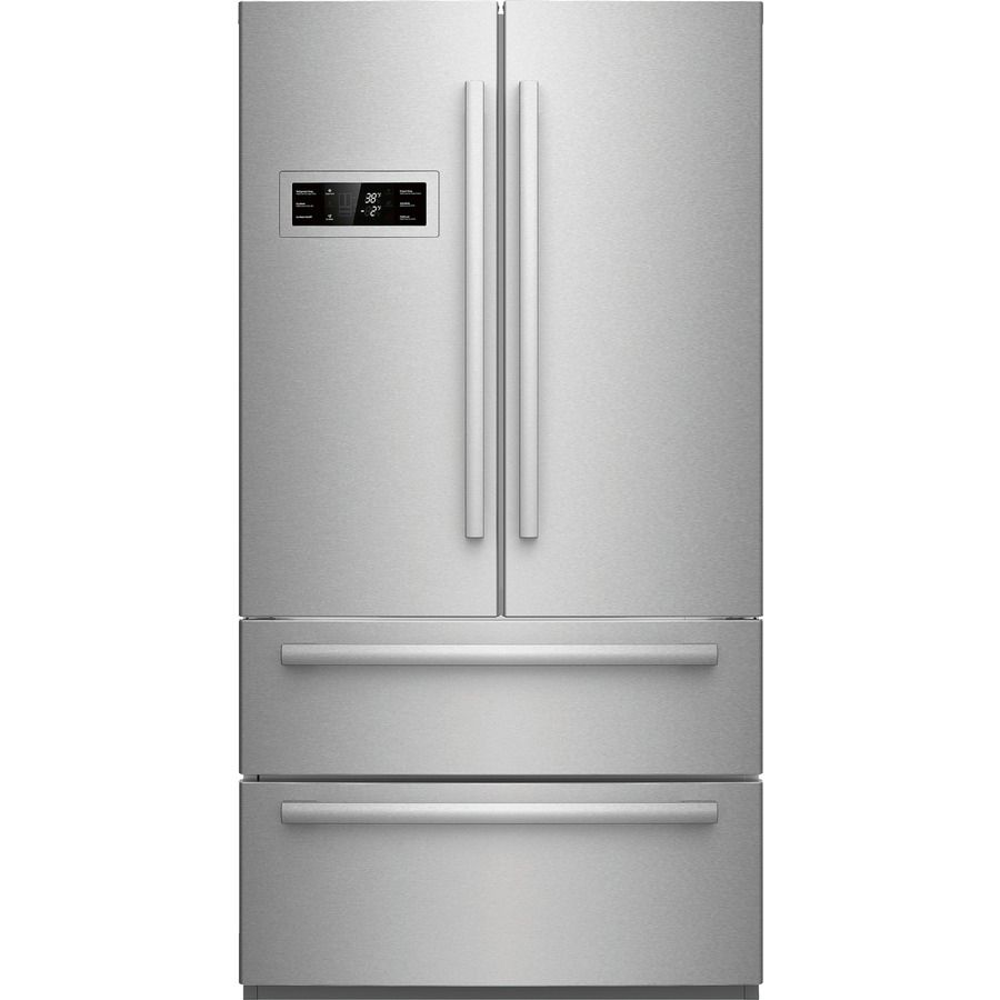 Merveilleux Bosch 800 Series 20.7 Cu Ft Counter Depth French Door Refrigerator With  Single Ice Maker (Stainless Steel)