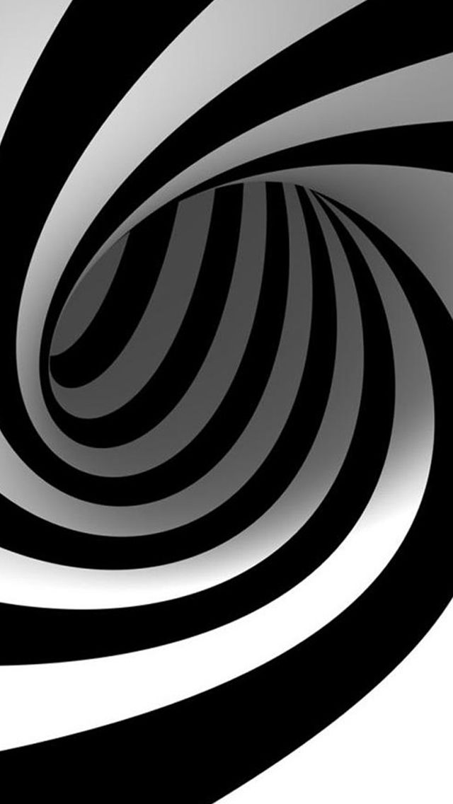 3D Abstract Swirl #iPhone #5s #Wallpaper in 2019  Optical