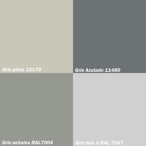 Resultado de imagen de ral gris piedra esquemas de color for Pintura color piedra claro