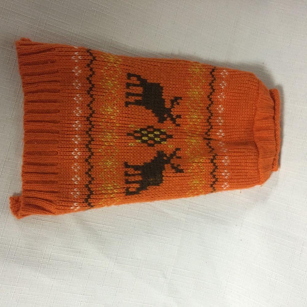 Pet Fall Christmas Sweater Dog Pullover Sleeveless Knit