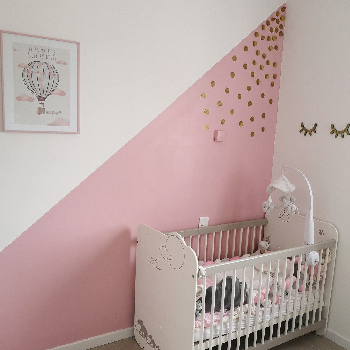 Idee déco chambre bebe fille | Kinderzimmer in 2019 | Toddler bed ...