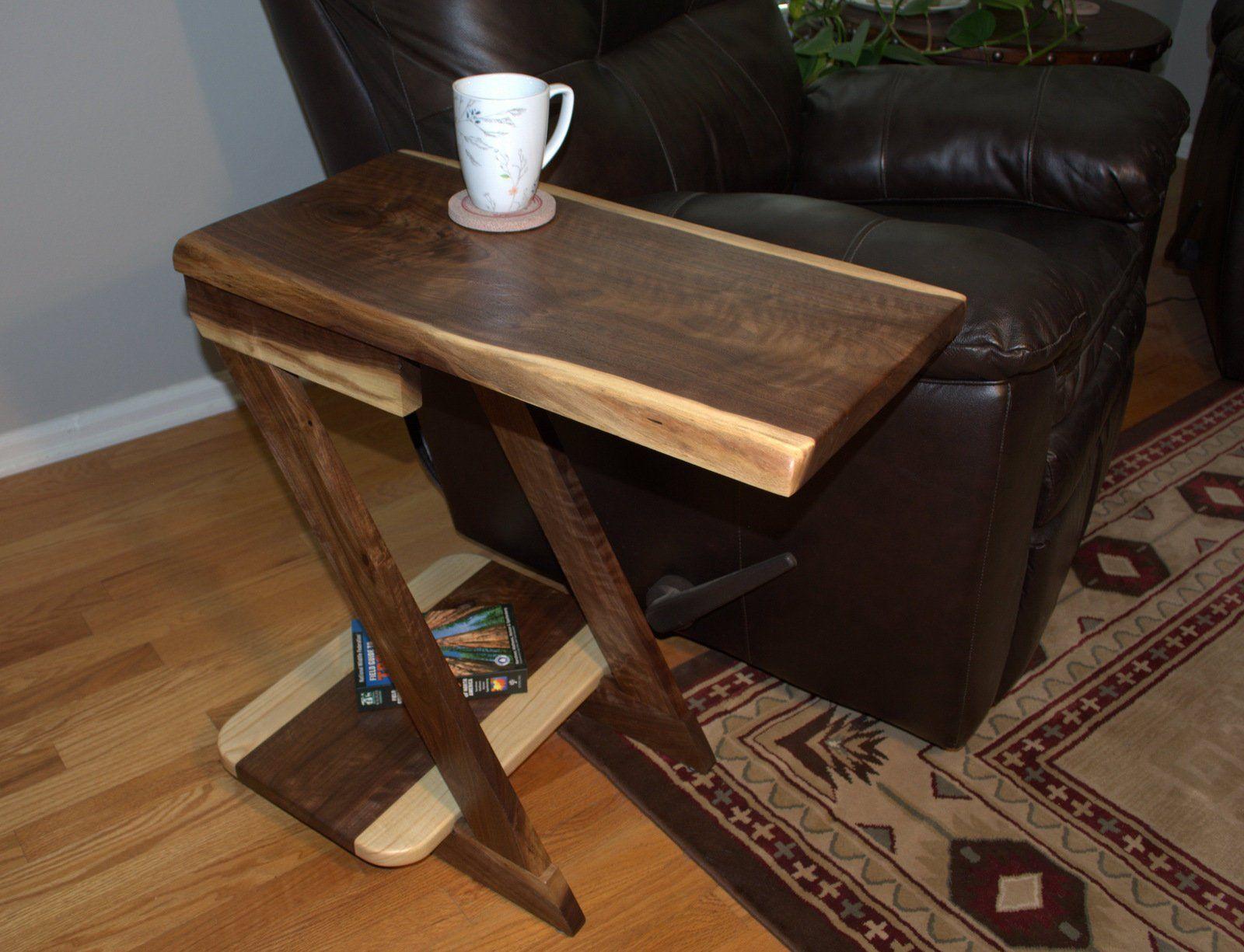 Side Table End Table Small Table Wood Table Livingroom Table